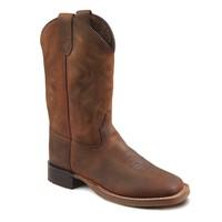 Bootstock | Barnwood Wooly | Cowboy boots met voering