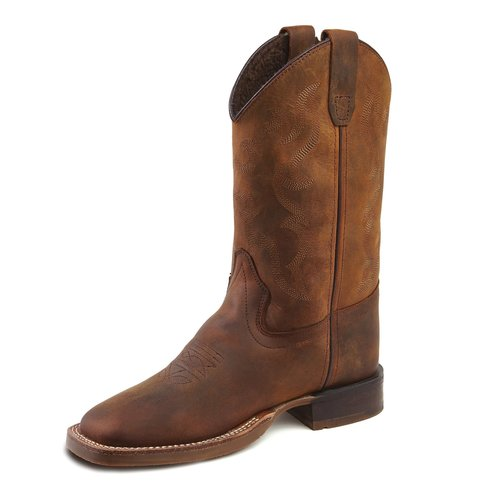 Bootstock Bootstock | Barnwood Wooly | Cowboy boots met voering
