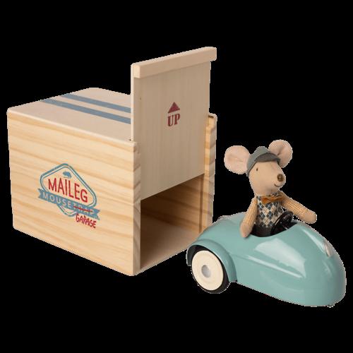 Maileg Maileg | Vintage muizen auto met garage