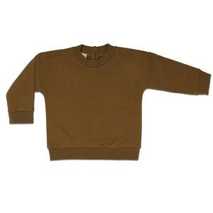 Phil & Phae Phil & Phae   Baby sweater   Bronze olive