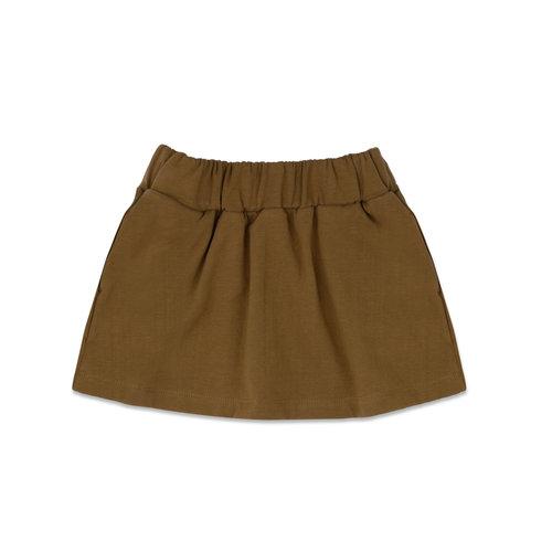 Phil & Phae Phil & Phae | Classic skirt | Rokje bronze olive