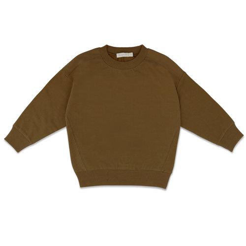 Phil & Phae Phil & Phae | Oversized sweater | Bronze olive
