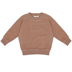 Phil & Phae Phil & Phae | Oversized teddy sweater | Creamy mocha