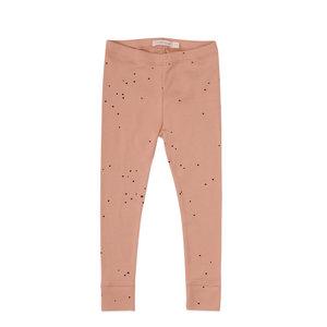 Phil & Phae Phil & Phae | Rib legging | Warming peach dots