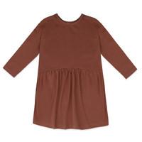 Phil & Phae | Two-way dress | Jurk chocolate mauve