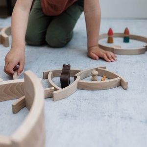 Abel Wooden Toys Abel Wooden Toys | Mini blocks 12