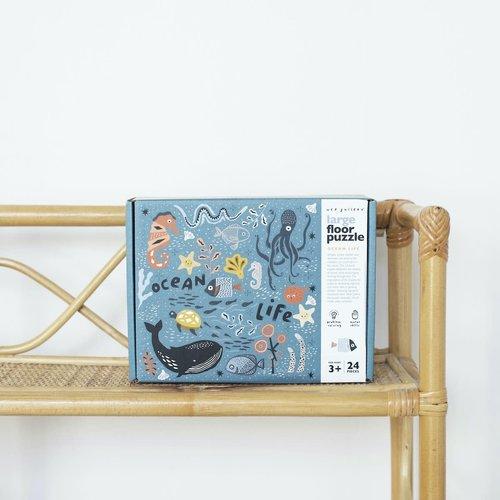 Wee Gallery Wee Gallery | Vloer puzzel 61x61 cm