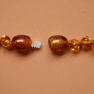 Orange and Amber Orange and Amber | Barnsteen armband