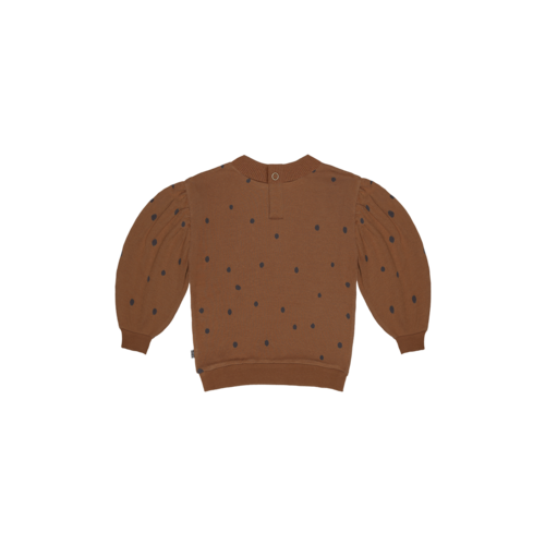 House of Jamie House of Jamie | Balloon Sweater | Ginger bread dots
