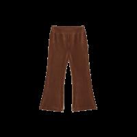 House of Jamie | Flared Pants | Ginger bread rib velvet