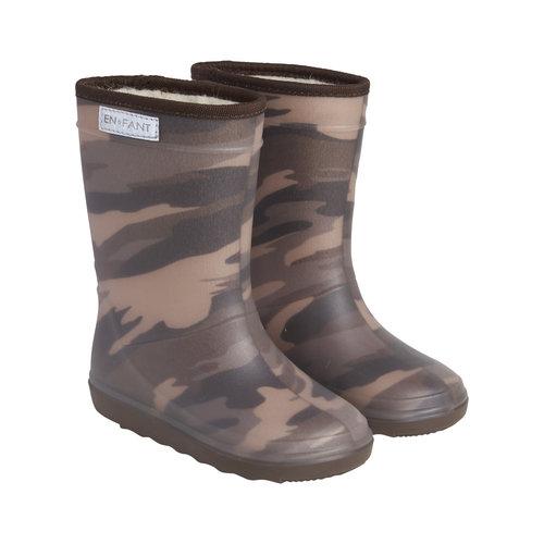 En Fant En Fant   Thermo Boots Print   Laarzen Army Olive