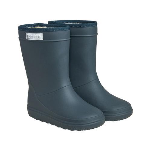 En Fant En Fant   Thermo Boots   Dark Slate Blue laarzen