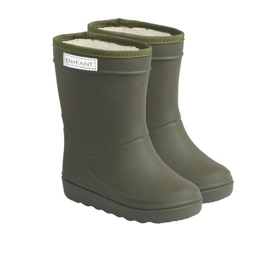 En Fant En Fant   Thermo Boots   Dusty Olive laarzen