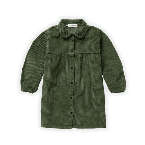 Sproet & Sprout Sproet & Sprout | Dress Corduroy Moss