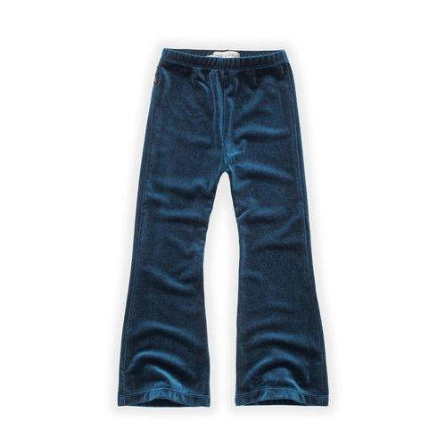 Sproet & Sprout Sproet & Sprout | Flared Legging Velvet Blue