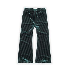 Sproet & Sprout Sproet & Sprout | Pants Velvet Pleats Green