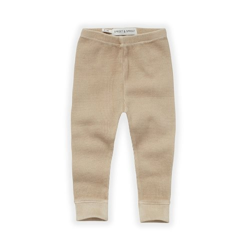 Sproet & Sprout Sproet & Sprout | Waffle legging Nougat