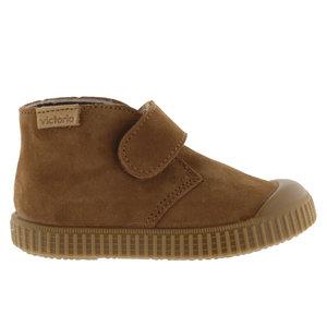 Victoria Victoria | 1366146 | Suéde schoenen met klittenband | Cuero bruin