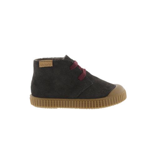 Victoria Victoria | 1366147 | Suéde schoenen met veters | Antracita