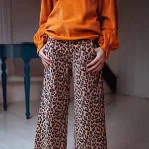 Daily Brat Daily Brat | Bella Leopard corduroy pants | Hazel
