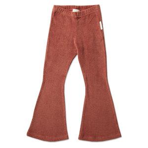 Petit Blush Petit Blush | Bowie Flared Pants | Marsala Velour
