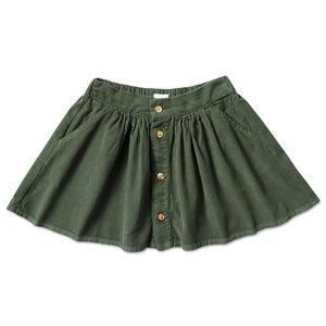 Petit Blush Petit Blush | Mini Button Skirt | Rokje Mist Green