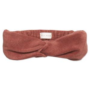 Petit Blush Petit Blush | Twisted Headband | Marsala Velour