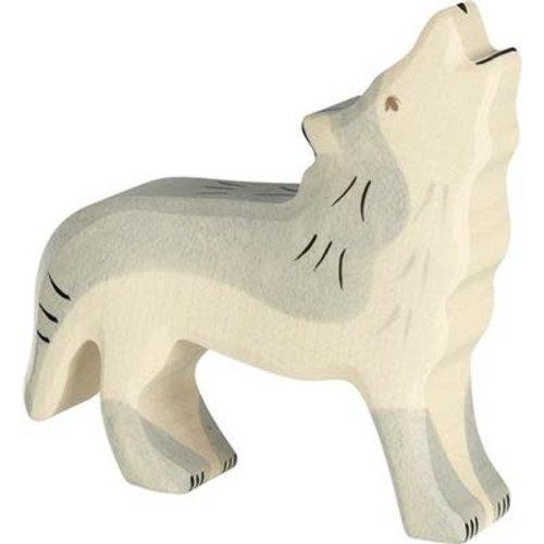 Holztiger Holztiger | Huilende wolf
