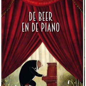 Boeken De Beer en de Piano   Prentenboek