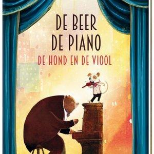 Boeken De Beer, de Piano, de Hond en de Viool   Prentenboek