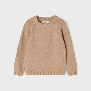 Lil' Atelier Lil' Atelier | Galto Knitted sweater | Tobacco brown