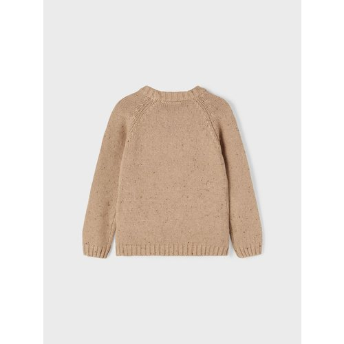 Lil' Atelier Lil' Atelier   Galto Knitted sweater   Tobacco brown