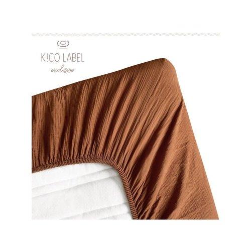 Kico Kico | Hydrofiel katoenen hoeslaken | Ledikant 60 x 120
