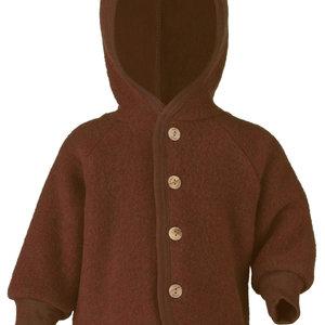 Engel Natur Engel Natur | Hooded Jacket | Baby jasje wol | Cinnamon