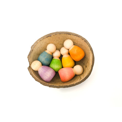 Grapat Grapat | Baby Nins houten poppetjes