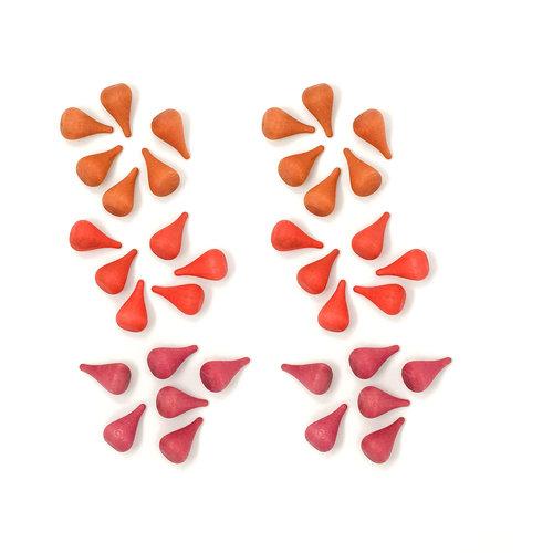 Grapat Grapat | Set van 36 mandala vuur elementen