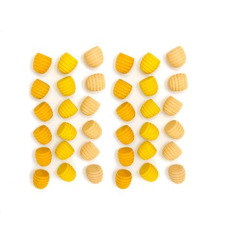 Grapat Grapat | Set van 36 mandala bijenkorfjes