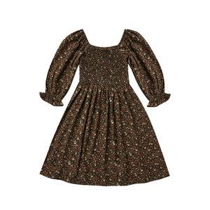 Rylee & Cru Rylee & Cru | Adelaide Dress | Bruine jurk Winter Bloom