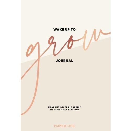 Boeken Wake up to grow Journal