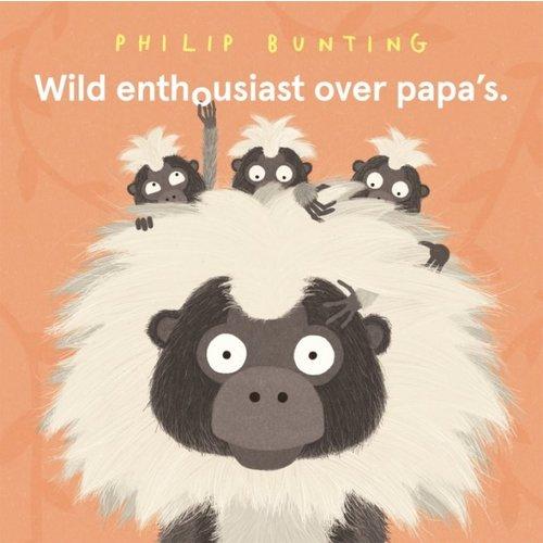 Overig Wild enthousiast over papa's   Prentenboek