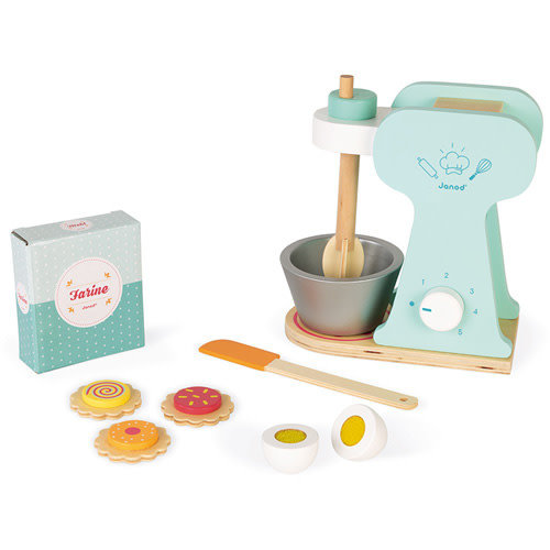 Janod Janod | Houten keukenmachine met bakset