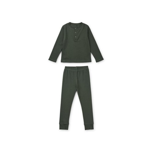 Liewood Liewood | Wilhelm pyjama set | Hunter Green