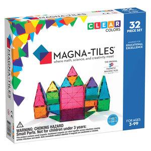 magna-tiles Magna-Tiles | Clear Colors set | 32 delig