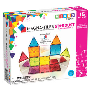 Magna-Tiles | Stardust set | 15 delig