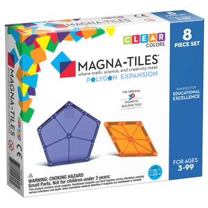 Magna-Tiles Magna-Tiles   Polygons uitbreidingsset   8 delig