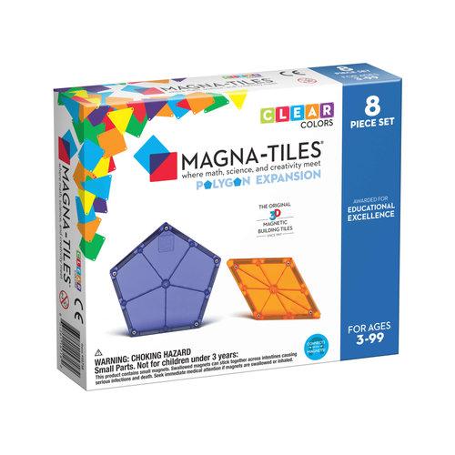 Magna-Tiles | Polygons uitbreidingsset | 8 delig