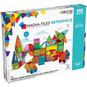 Magna-Tiles Magna-Tiles | Metropolis set | 110 delig