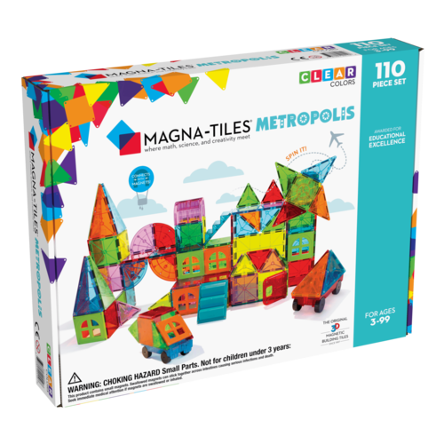 Magna-Tiles | Metropolis set | 110 delig