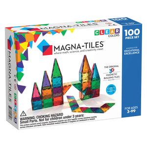 Magna-Tiles | Clear Colors set | 100 delig