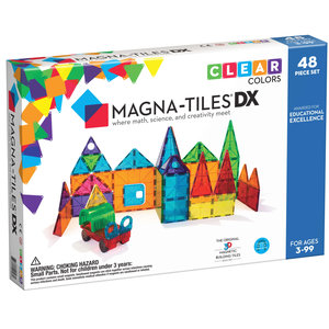 Magna-Tiles Magna-Tiles | Clear Colors Deluxe set | 48 delig
